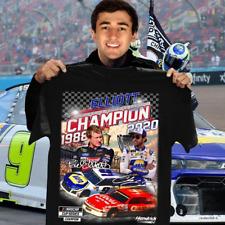 Elliott Champion 1986 2020 Black T Shirt