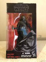 Hasbro The Force Awakens Kylo Ren Action Figure Black Series