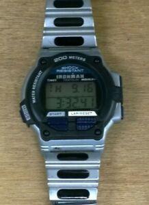 Working Timex Ironman Triathlon Men's Wristwatch