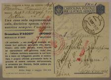 Storia postale del Regno d' Italia croce rossi