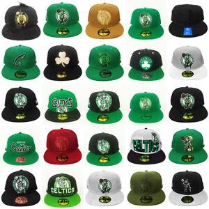 NWT Boston Celtics NBA Fitted Hats New Era Mitchell & Ness adidas