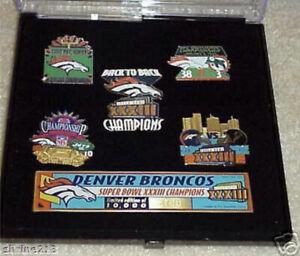 Denver Broncos Super Bowl 33 Limited Èdition Champions Pin Set