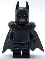 LEGO BATMAN MINIFIGURE SUPER HERO MARVEL DC UNIVERSE ARMOR SUIT CAPE