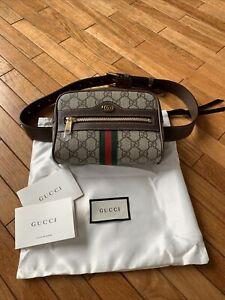 NWT | Gucci Ophidia Logo Belt Bag | MSRP $1100