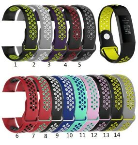 Ersatz Armband für Fitbit Charge 3 & 4 Fitness Sport Tracker Watch Silikon