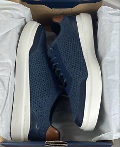 Cole Haan GrandPro Rally Stitchlite Sneakers Navy Ink - C33833 - Men's 10 - New