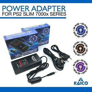Playstation 2 PS2 Slim PSU Power Supply AC Adaptor Adapter WITH UK Plug Charger