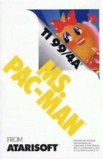Ms. Pac-Man (TI-99/4a, 1984) ON 5.25 FLOPPY DISK WITH COPY OF MANUAL