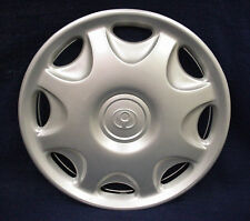 "MAZDA MX-3 92-96 14"" 8 HOLE SILVER WHEEL COVER / HUBCAP - 1- OEM"