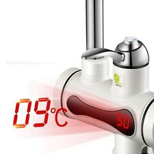 220V LED Digital Display Instant Heating Electric Water Heater Faucet Tap New