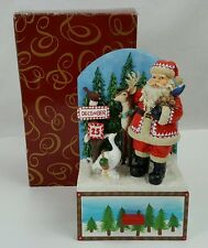 "San Francisco Music Box Advent Calendar ""Santa Claus is Coming To Town"" Rudolph"