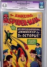 amazing spiderman 12 cgc.4.0