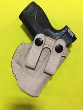 Leather Inside the Waistband Holster for Glock 26/27, M&P SHIELD (# 526)