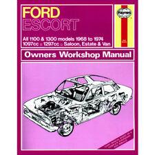 Ford Escort MK1 Haynes Manual 1968-74 1100 1300  1.1 1.3 Petrol Workshop