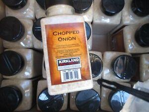 Kirkland Signature Chopped Onion Gently Dried Finest Quality 11.7 oz