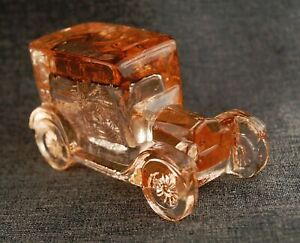 Ford Model T car automobile 1925 figurine Amber Boyd Art Glass Paperweight
