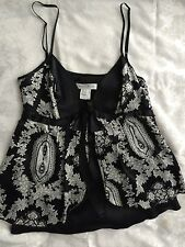 white house black market dressy camisole top size Small. Beautiful for evening