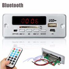12V/5V Car Bluetooth MP3 WMA FM Decode Board Audio Module WAV Music Decoder