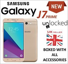NEW SAMSUNG GALAXY J7 PRIME 16GB MOBILE PHONE GOLD UNLOCKED SM-J727 4G LTE UK