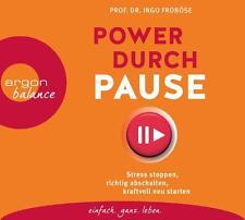 Power durch Pause von Ingo Froböse Hörbuch