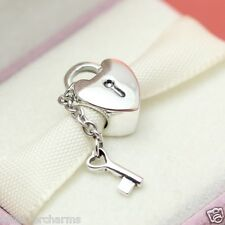 * Authentic Pandora Key to My Heart 790971 Wife Love Valentines Day Gift Charm