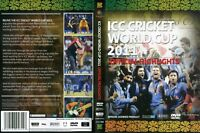 ICC CRICKET WORLD CUP MATCHES DVD 2011 150MINS COLOR
