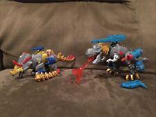 100% Complete Lot Of Two Hero Mashers Transformers Grimlock Slug
