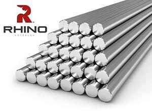 8mm - 20mm Diameter Rods 303 Stainless Steel Round Bar Metal 3D Printer CNC