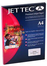 A4 Jet Tec Photo Glossy Paper 250gsm 2 x 30 sheets Suits All Inkjet Printers