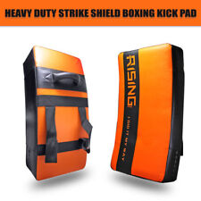 Heavy Duty Strike Shield Boxing Kick Pad Curved Rugby Muay Thai Karate Training