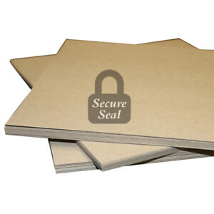 """50 Pack of 12x12"""" Square Chipboard Pads THICK Sturdy 30PT .030 Scrapbook Sheets"""