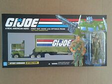 Transformers G1 G.I. Joe Optimus Prime & Duke box custom 100% Complete!!!