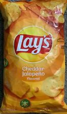 NEW LAYS CHEDDAR JALAPEÑO FLAVORED POTATO CHIPS 7.75 OZ (219.7g) BAG FREESHIPING
