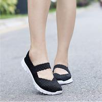 Women Sandals Shoes Fashion Comfortable Woven Shoes Casual Shoes Femal Flats