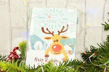 Pin il naso sulla renna divertente PIN UP Rudolph gioco festa di Natale x24 Naso