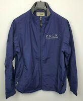 Men's L.L.Bean Fleece Lined Jacket Company Logo Size L