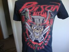 Poison concert tour band tee ride t shirt size S