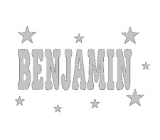 Personalised-Quality-Wall-Art-Name In Stars-Wall-Door-Art-Vinyl-Decal-Sticker.