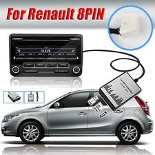 1set New USB SD AUX Car MP3 Adapter Audio Interface CD Changer for Renault 8P
