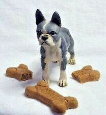 Harmony Kingdom Artist Neil Eyre Designs K9 dog pup puppy Boston Terrier Le