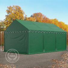 Lagerzelt 4x6m Zelt Weide Unterstand Lagerhütte wasserdicht 500g/m² PVC grün