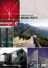 Design - e2 (DVD, 2008), Narrated by: Brad Pitt, Like new (Disc:NEW), Free post