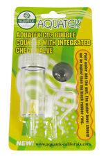 NEW! AQAUTEK Bubble Counter with Integrated Check Valve