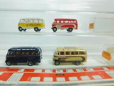 BO873-0,5 #4x Brekina H0 / 1:87 Bus Mercedes / MB 319: Dinkelacker +3614 +3610