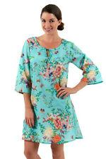 Knee Length Summer 100% Cotton Dresses for Women