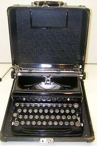 Antique 1936 Royal Model O Vintage Typewriter O-569229