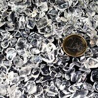 100 g Bergkristall - XS - Trommelsteine Ladesteine A - Qualität  aus Brasilien
