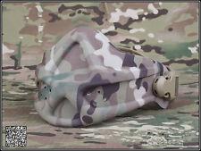 Military Airsoft War Game Half Face Mask Tactical Neoprene Hard Foam Mask MC