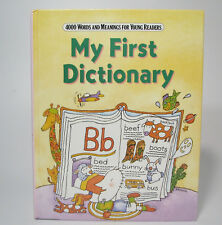 My First Dictionary 4000 Words and Meanings 1991 Hardcover Young Readers