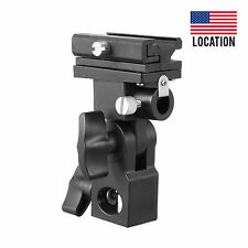 MK Flash Bracket B Shoe Umbrella Holder Swivel Light Stand for Canon Nikon